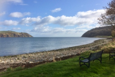 The Sutars of Cromarty (Cobblers to you and I) - The story is that two giant shoemakers used the cliffs as workbenches, and tossed their tools to and fro